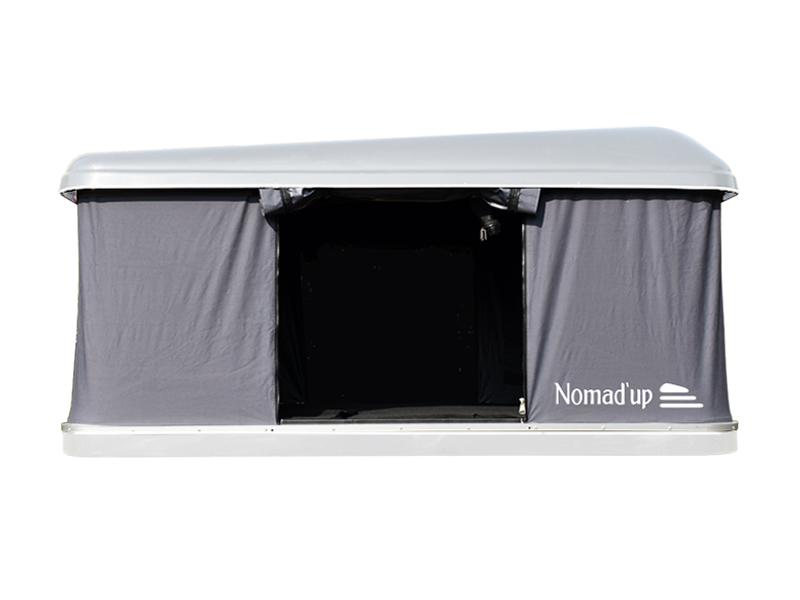 tente de toit Nomad'up coque blanche
